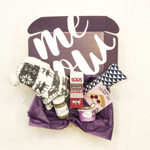WhiskerBox Meow Monthly Cat Box and Pet Gift Box