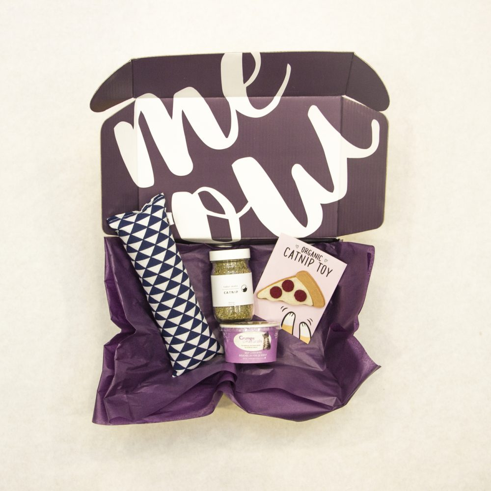 WhiskerBox Mew Monthly Cat Box and Pet Gift Box