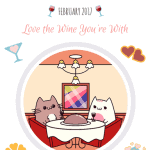 February 2017 WhiskerBox Meow Cat Box