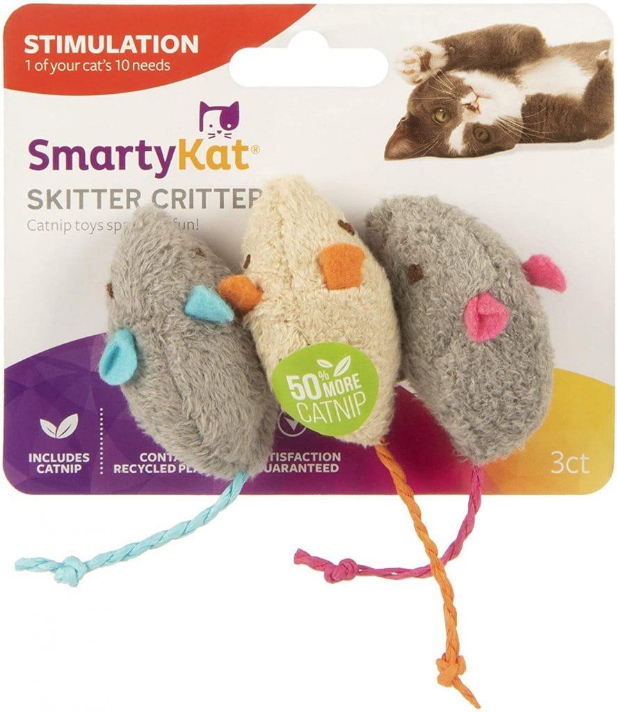 SmartyKat Skitter Critters Catnip Cat Toys